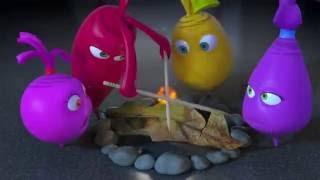 Прикольный мультик «Овощная вечеринка» - Кемпинг (53 серия)