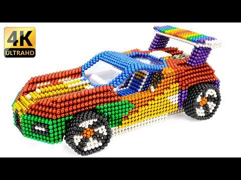 DIY - How To Build Beautiful Bugatti Super Car With Magnetic Balls - Satisfying Video - Magnet Balls