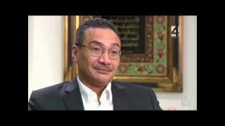 Caro Meldrum-Hanna and Mal Minister Hishammuddin re malacca st