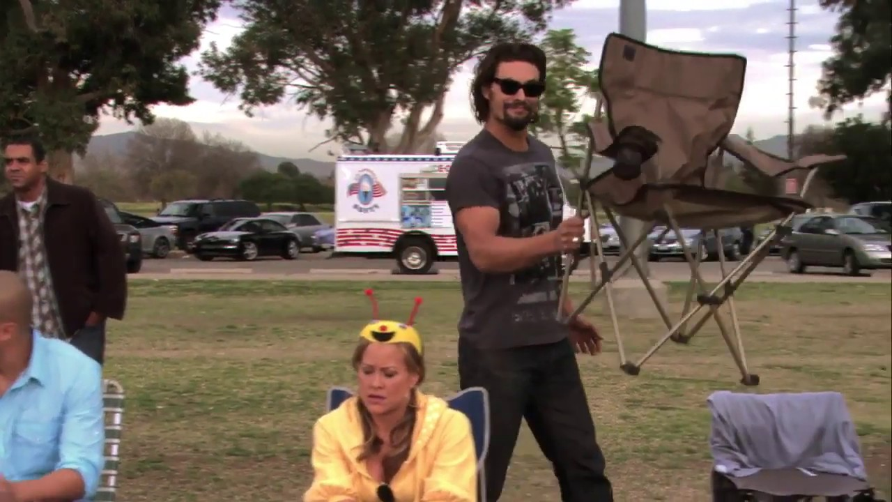 Jason Momoa And His Folding Chair Youtube