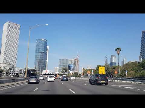 Tel Aviv The Best View  Ayalon Highway North תל אביב איילון צפון