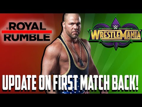 Update On Kurt Angle's First Match Back In WWE!