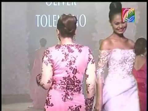 Kuh Ledesma in Oliver Tolentino's Fashion Show.mpg