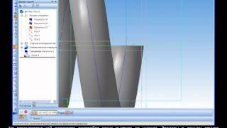 Построение 3D модели шланга от пылесоса в Компас 3D