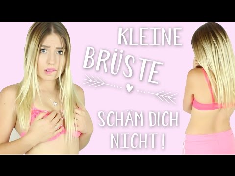 KLEINE BRÜSTE .. Schäm dich nicht für deinen Körper ! ♥ BibisBeautyPalace