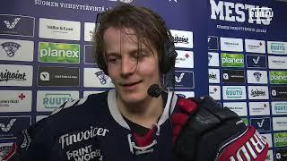 Juho Mäkelän kommentit TUTO - SaPKo ottelun erätauolla