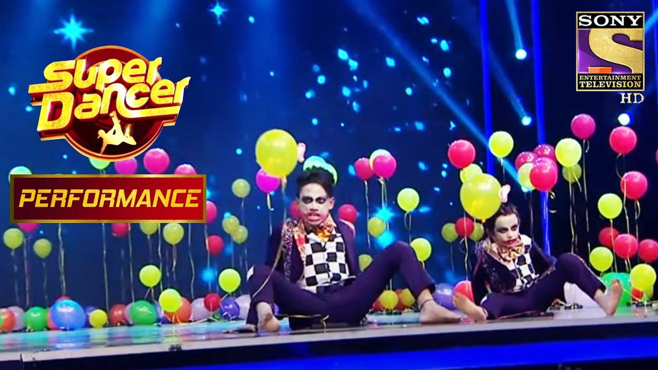"Akash और Ashish के ""Joker"" Dance ने  किया Judges को आश्चर्य चकित | Super Dancer Chapter 2"