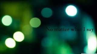 Anathema-Natural Disaster (lyrics)