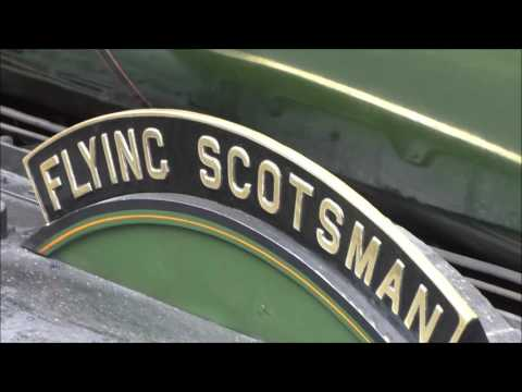 A day with Flying Scotsman