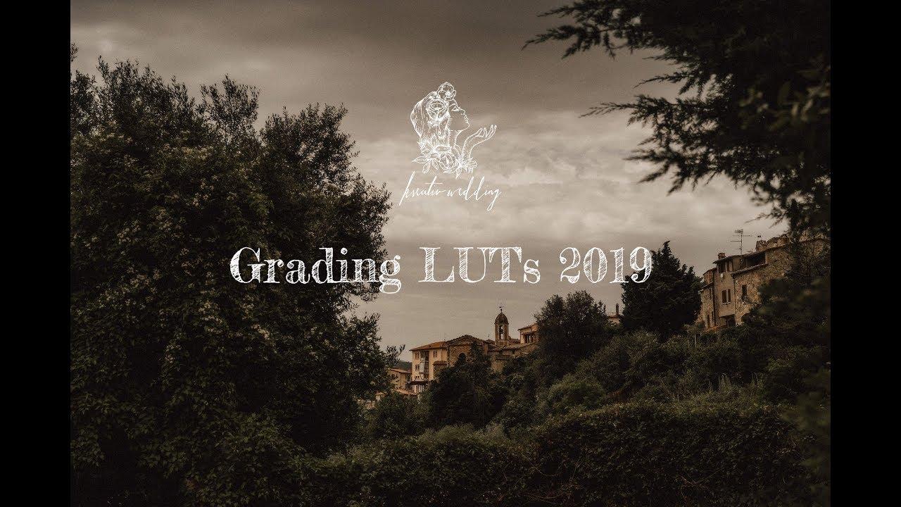 Kreativ Wedding grading LUTs 2019