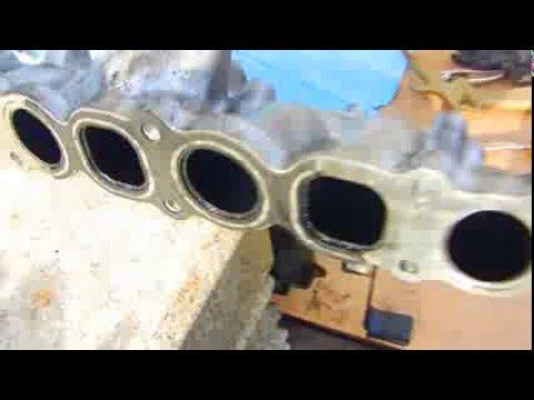 2002 Hyundai Starex Common Rail Engine-Checking EGR valve and cleaning air  intake manifold