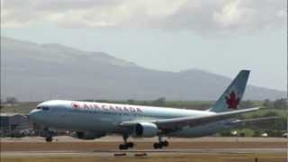 Air Canada planes - domestic routes