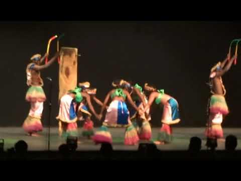 Optreden van Benin - Les As du Benin tijdens Hello! Schoten op7 juli 2017