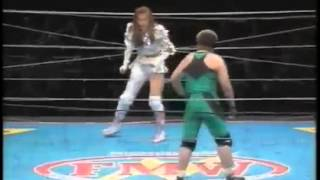 """On April 29, 1997 [Megumi] had her retirement match against Tsuchiya in a """"No ropes 200V double hell double barbed wire barricade double landmine glass ..."""