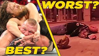 Best & Worst Last-Minute PPV Changes