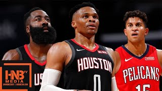 Houston Rokets vs New Orleans Pelicans - Full Game Highlights | November 11, 2019-20 NBA Season