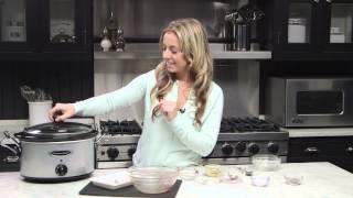How To Make Spiced Cranberry Slow Cooker Pork Roast:  Ohio Pork Episode 16