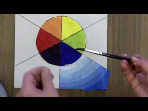 A Value Scale Color Wheel