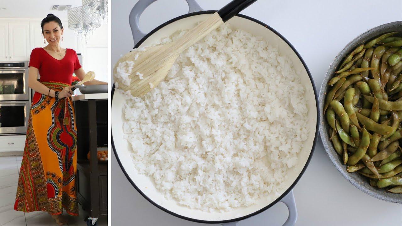 Рис для Суши - Тонкости и Секреты Эдамаме - Соевые Бобы - Рецепт от Эгине - Heghineh Cooking Show