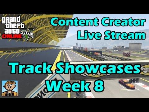 GTA Race Track Showcases (Week 8) [PS4] - GTA Content Creator Live Stream