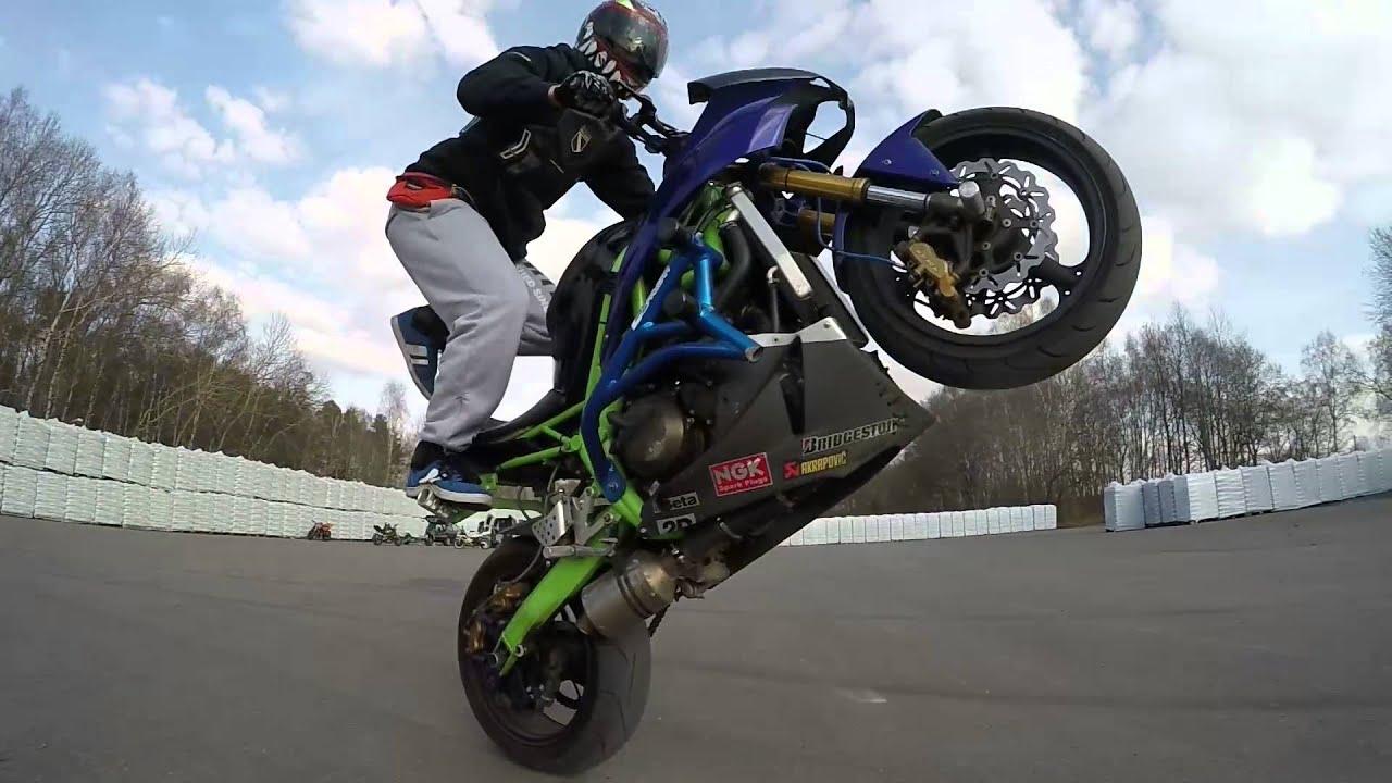 StuntChris | Yamaha R6 Stunt | 27.02.2016 | First ...