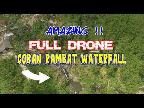🌅-coban-rambat-🌅-indahnya-wisata-alam-trenggalek-🇮🇩-melalui-drone-kamera-udara-dji-phantom-3