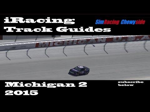 iRacing Track Guides - Michigan 2nd Race 2015