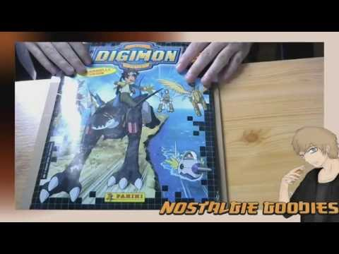 Nostalgie Goodies - Un album Panini Digimon!