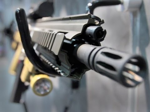All new HK 416 A5 - Heckler & Koch - Shot Show 2013 HK416