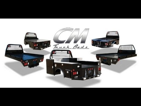 CM TRUCK BEDS TOOL BOXES UTILITY & SERVICE BED promotional video