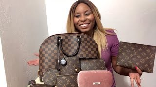 Louis Vuitton Alma MM || What's In My Bag || Africah Harrigan