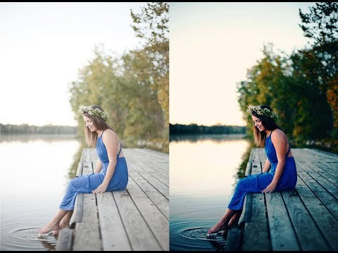 Photo Retouching | Color Correction | Color Balance | Outdoor Photography | Photoshop Tutorial
