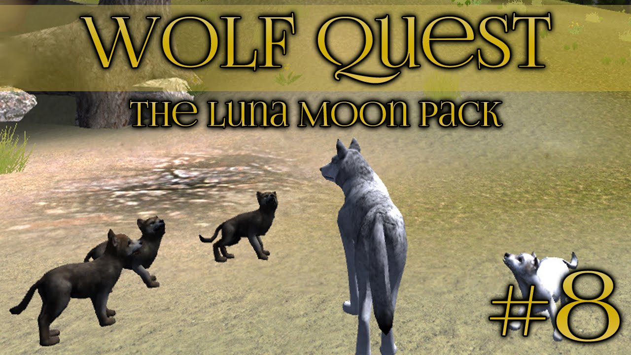 Wolf quest arrival of springtime puppies episode 8 youtube ccuart Choice Image