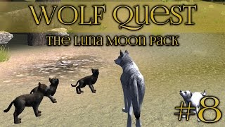 Wolf Quest 🐺 Arrival of Springtime Puppies!! - Episode #8