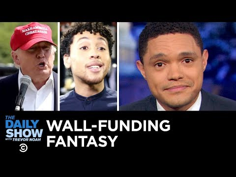 Trump's Wall-Funding Fantasy Inspires The A-Mexican Express Card | The Daily Show