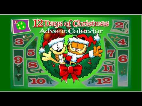 Garfield's 12 Days of Christmas - Day 1 - YouTube