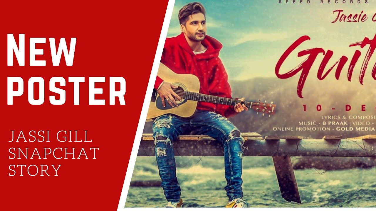 Jassi Gill Snapchat Introduces His Hair Stylist Promotes Guitar