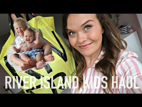 KIDS CLOTHING HAUL MAY 2017 - RIVER ISLAND MINI & KIDS | Charlotte Taylor #ad