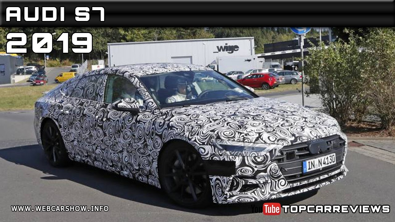 2019 Audi S7 Spy Shots Review Rendered Price Specs Release Date