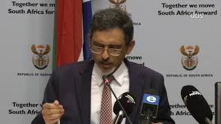 Minister Ebrahim Patel briefs media on South African Investment Conference thumbnail
