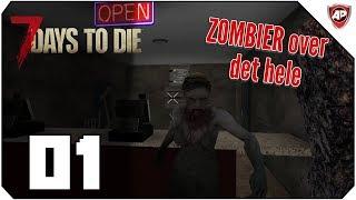 Jorden er overtaget af zombier - 7 Days to Die Ep 1