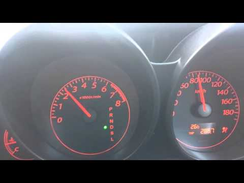 rpm goes up and down while driving