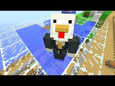 Minecraft Xbox - Sky Den - Underwater Train (61)
