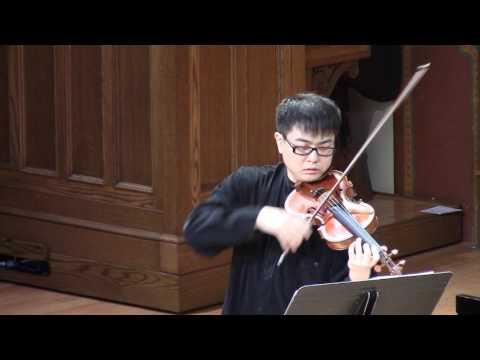 J.S. Bach: Partita No.2 D minor BWV 1004 - Jonathan Lee