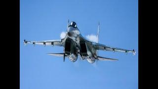 Воздушный бой: Су-35С поймал F-22 в Сирии, как курсанта-пацана