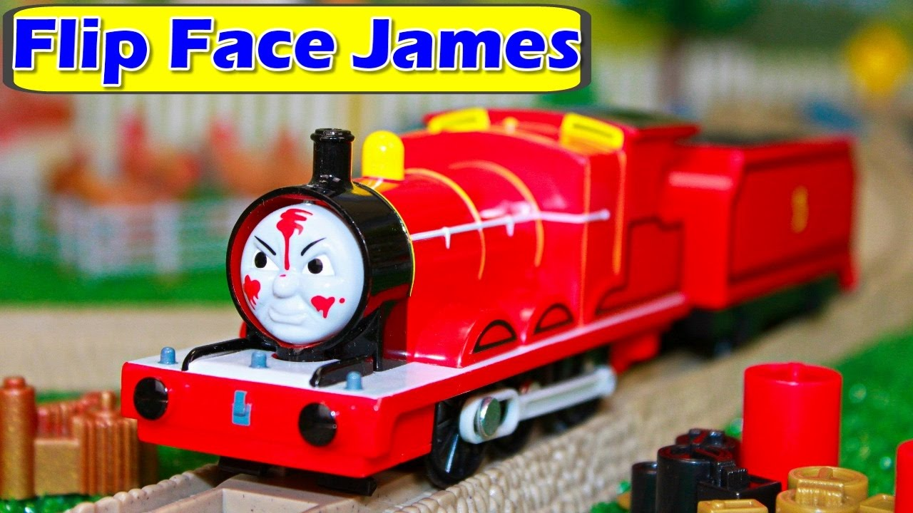 Uncategorized James Thomas And Friends thomas and friends trackmaster flip face talking james the tank toy trains hero of rails youtube