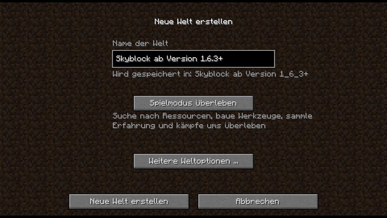 Minecraft Skyblock Server Ip