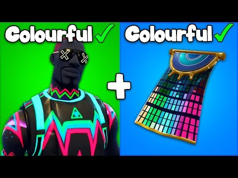 VIEWERS Send Me The Most COLOURFUL Skin COMBOS... (Viewers Submit #2)