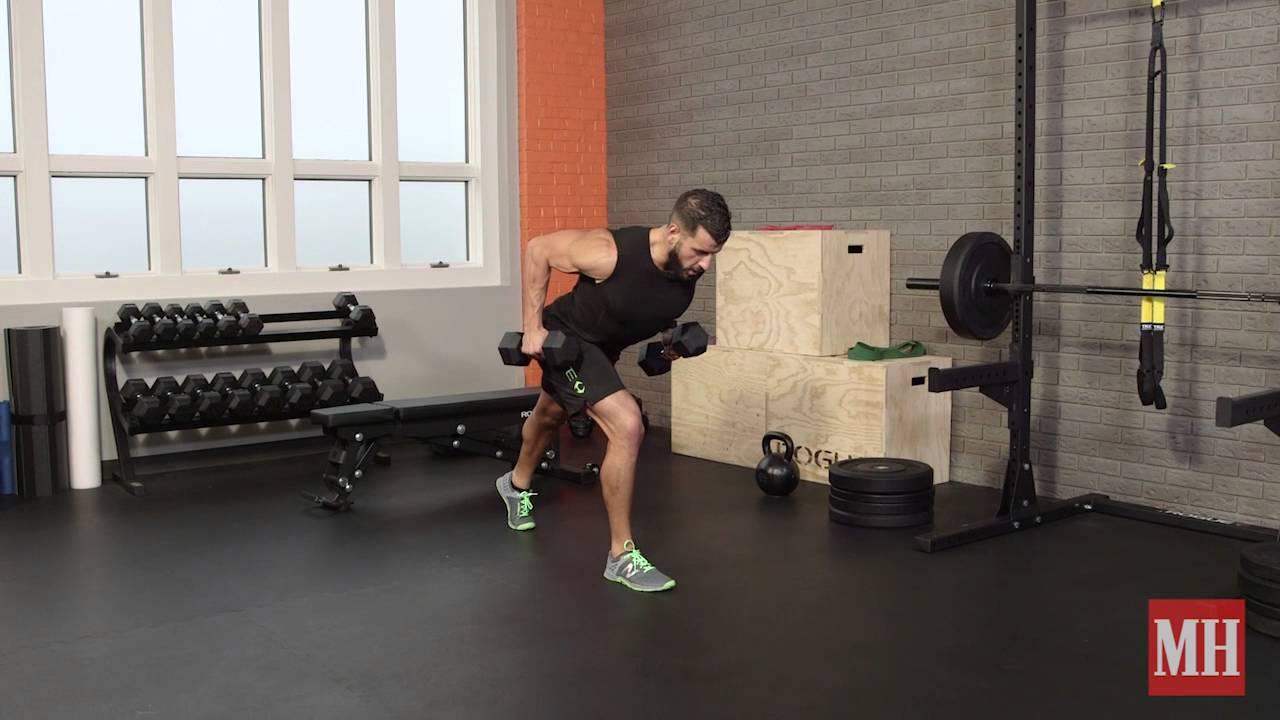 Zsírvesztéses súlyzó rutin. Visszatérve az alapképletre, a szálkásítás = megfelelő étrend + edzés.
