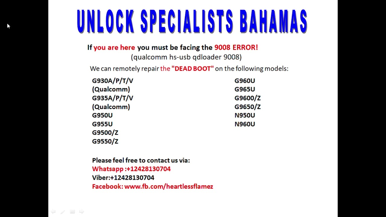 SAMSUNG 9008 ERROR REPAIR DEAD BOOT FIX UNBRICK Videos & Books